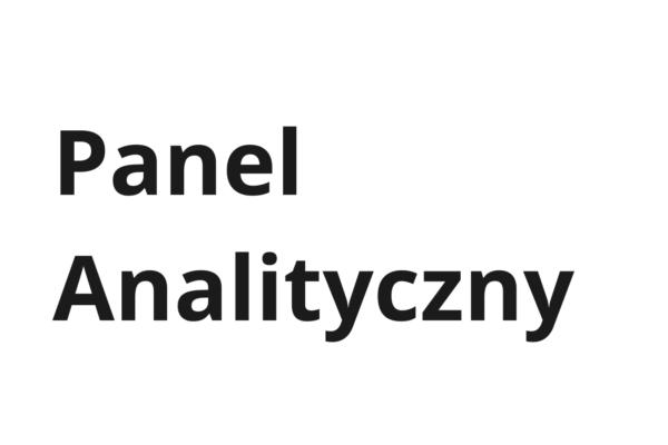 Panel Analityczny